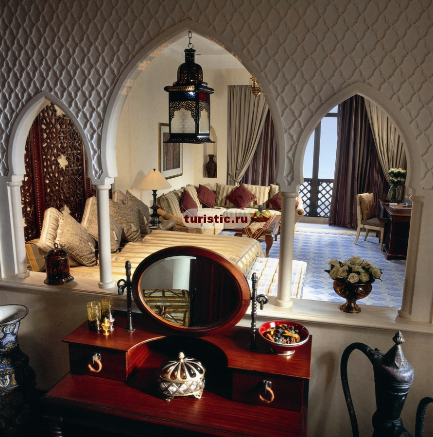 Балкон в араском стиле..